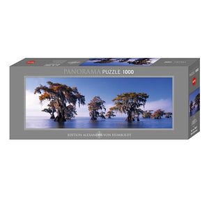 Bald Cypresses 1000pc Panoramic Puzzle