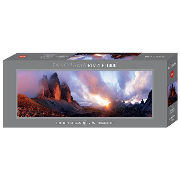 3 Peaks 1000pc Panoramic Puzzle