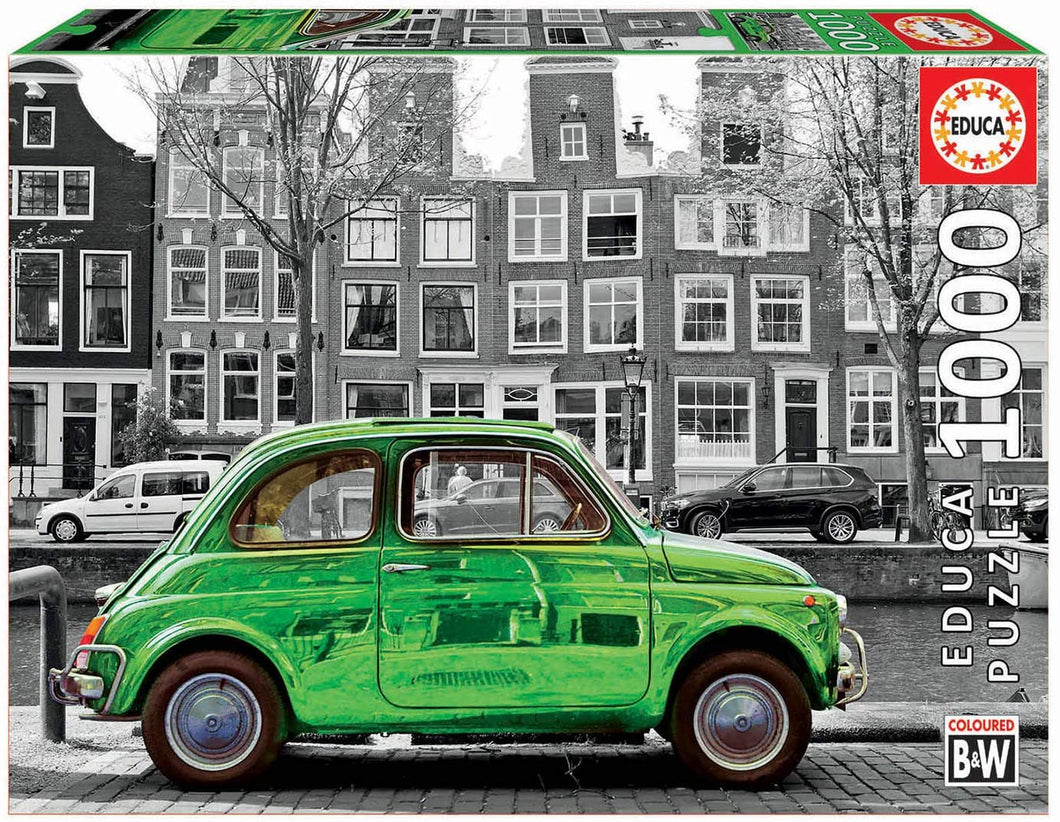 Car in Amsterdam 1000pc Puzzle