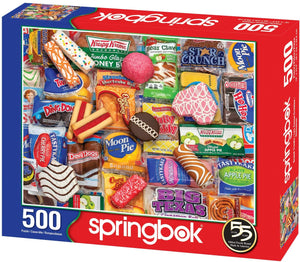 Snack Treats 500pc Puzzle