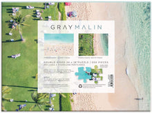 Load image into Gallery viewer, The Hawaii Beach by Gray Malin 500pc Double-Sided Puzzle