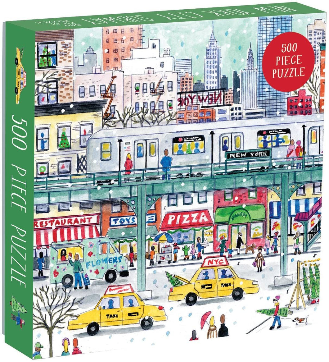 New York City Subway by Michael Storrings 500pc Puzzle