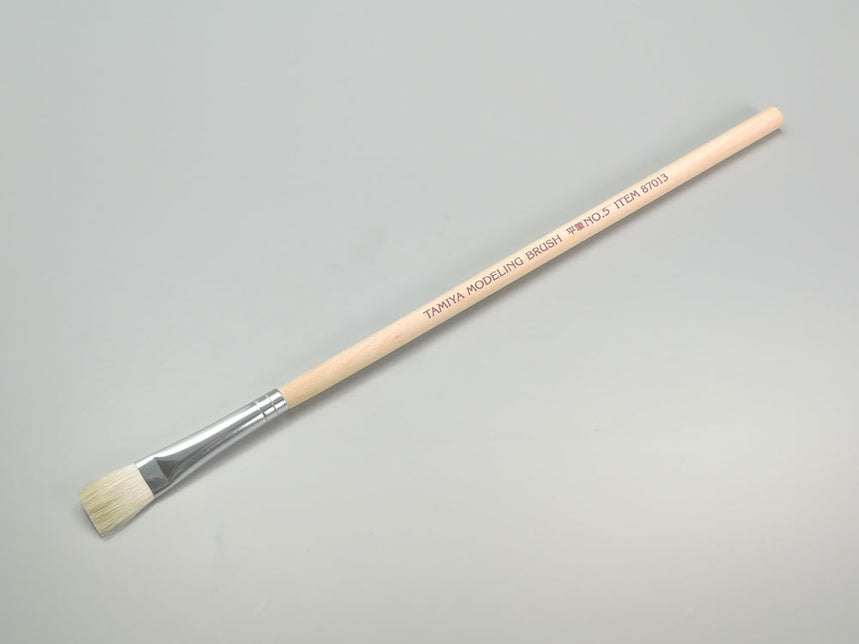 Tamiya Paint Brush - Flat Brush (No. 5)