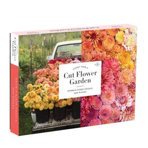 Floret Farm's Cut Flower Garden 500pc Double-Sided Puzzle