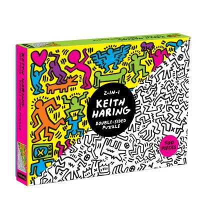 Keith Haring 500pc Double-Sided Puzzle