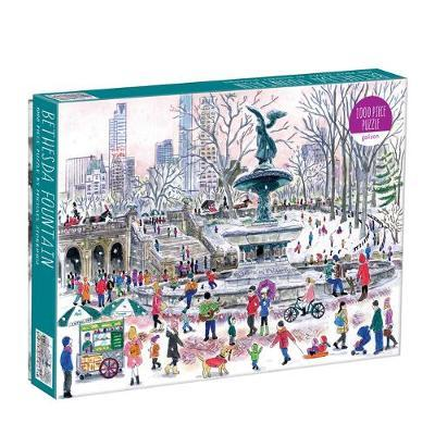 Bethesda Fountain by Michael Storrings 1000pc Puzzle