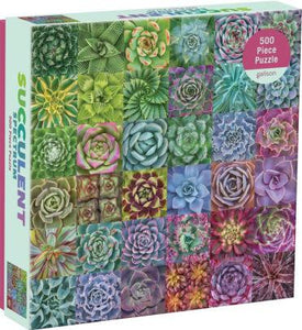 Succulent Spectrum 500pc Puzzle