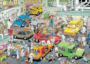 Car Paint Shop by JvH 500pc Puzzle