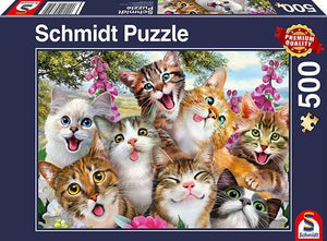 Cat Selfie 500pc Puzzle