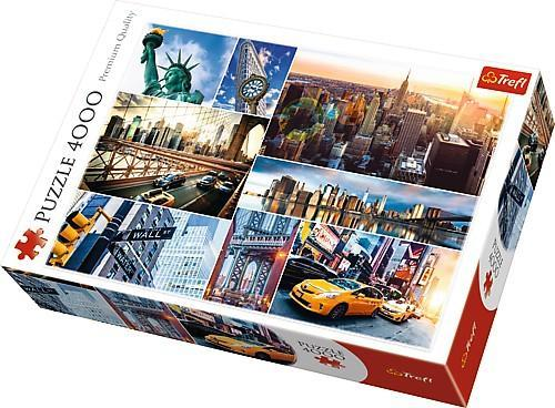 New York Collage 4000pc Puzzle