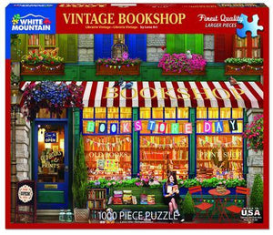 Vintage Bookshop 1000pc Large Format Puzzle