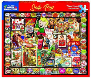 Soda Pop 1000pc Large Format Puzzle