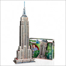Load image into Gallery viewer, Empire State Building 975pc 3D Puzzle