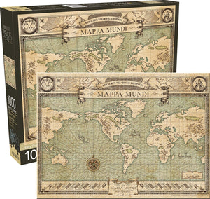 Fantastic Beasts: Map 1000pc Puzzle