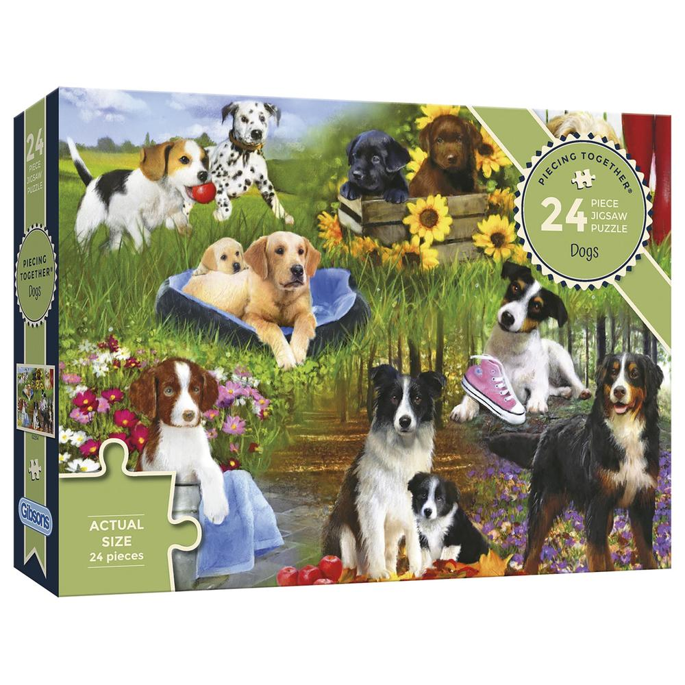 Dogs 24pc Puzzle