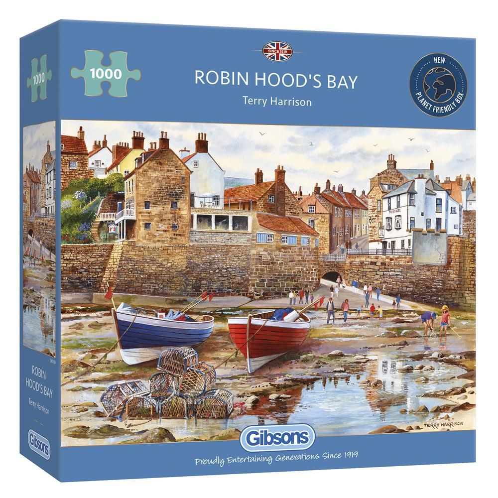 Robin Hood's Bay 1000pc Puzzle