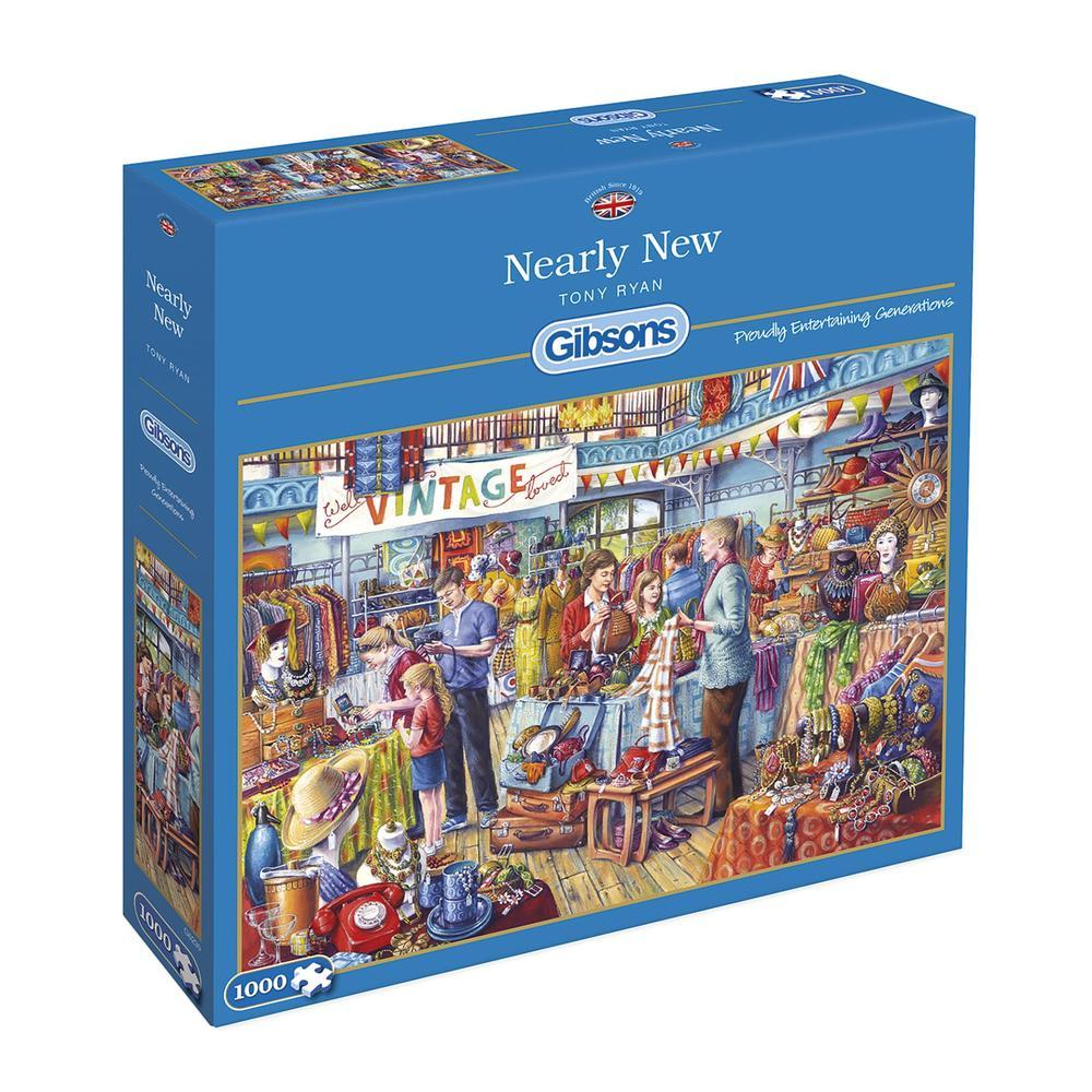 Nearly New 1000pc Puzzle