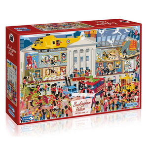 Lifting the Lid - Buckingham Palace 1000pc Puzzle