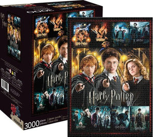 Harry Potter: Movie Collection 3000pc Puzzle