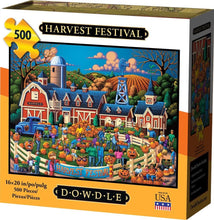 Load image into Gallery viewer, Harvest Festival 500pc Puzzle