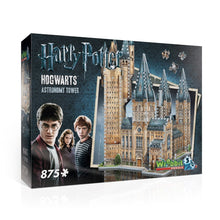 Load image into Gallery viewer, Harry Potter: Hogwarts Astronomy Tower 875pc 3D Puzzle