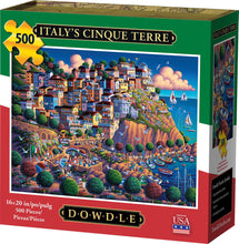 Load image into Gallery viewer, Italy's Cinque Terre 500pc Puzzle