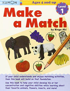 Make a Match - Level 1: Ages 4 and Up