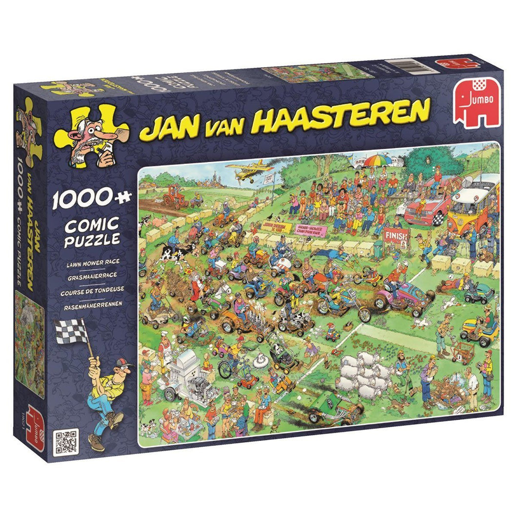 Lawn Mower Race by JvH 1000pc Puzzle