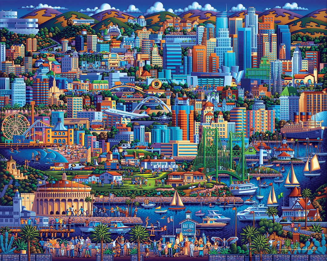 Los Angeles 500pc Puzzle