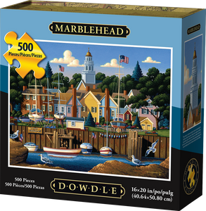 Marblehead 500pc Puzzle