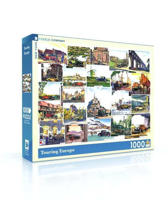Touring Europe 1000pc Puzzle