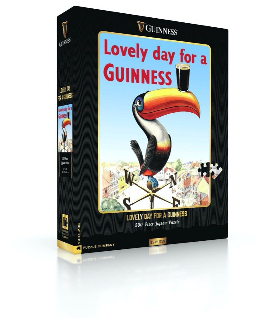Guinness: Lovely Day for a Guinness 500pc Puzzle