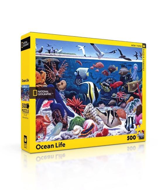 National Geographic: Ocean Life 500pc Puzzle
