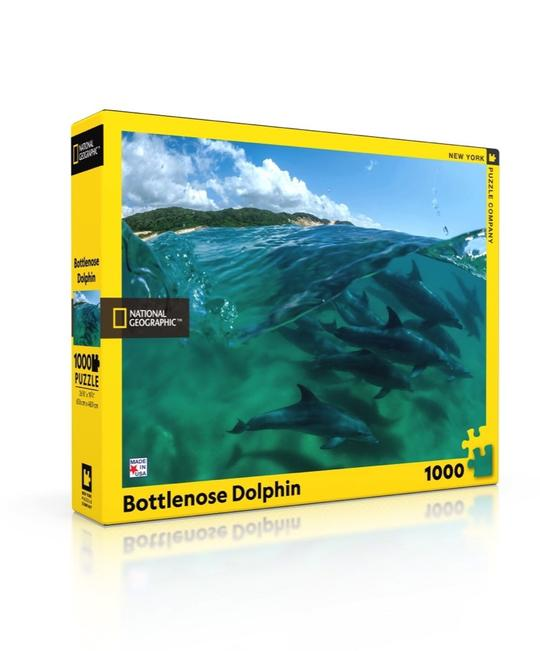 National Geographic: Bottlenose Dolphin 1000pc Puzzle