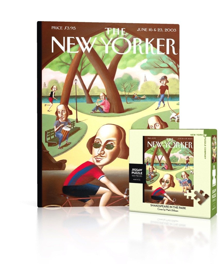 The New Yorker: Shakespeare in the Park 100pc Mini Puzzle