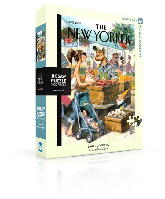 The New Yorker: Small Growers 1000pc Puzzle