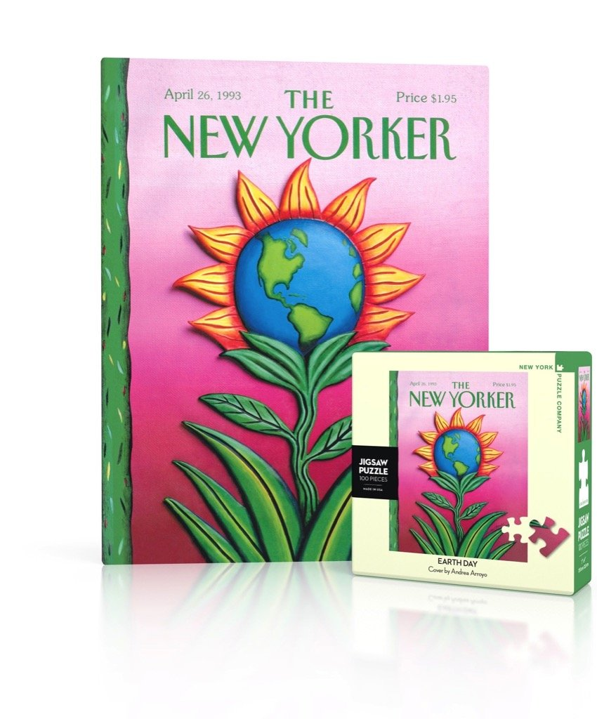 The New Yorker: Earth Day 100pc Mini Puzzle