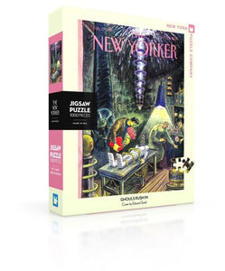 The New Yorker: Ghouls Rush In 1000pc Puzzle