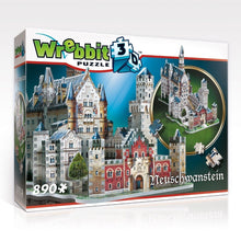 Load image into Gallery viewer, Neuschwanstein Castle 890pc 3D Puzzle