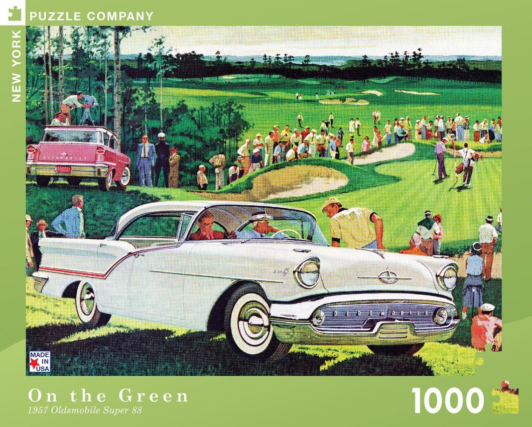 On the Green 1000pc Puzzle