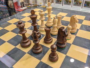 "Weighted Staunton Chess Pieces - No. 6 (3 3/4"")"
