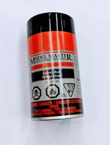 Model Master Spray Paint: Fabric Red (100mL)