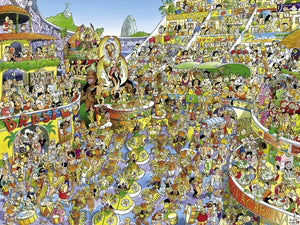 Carnival in Rio by Prades 1500pc Puzzle