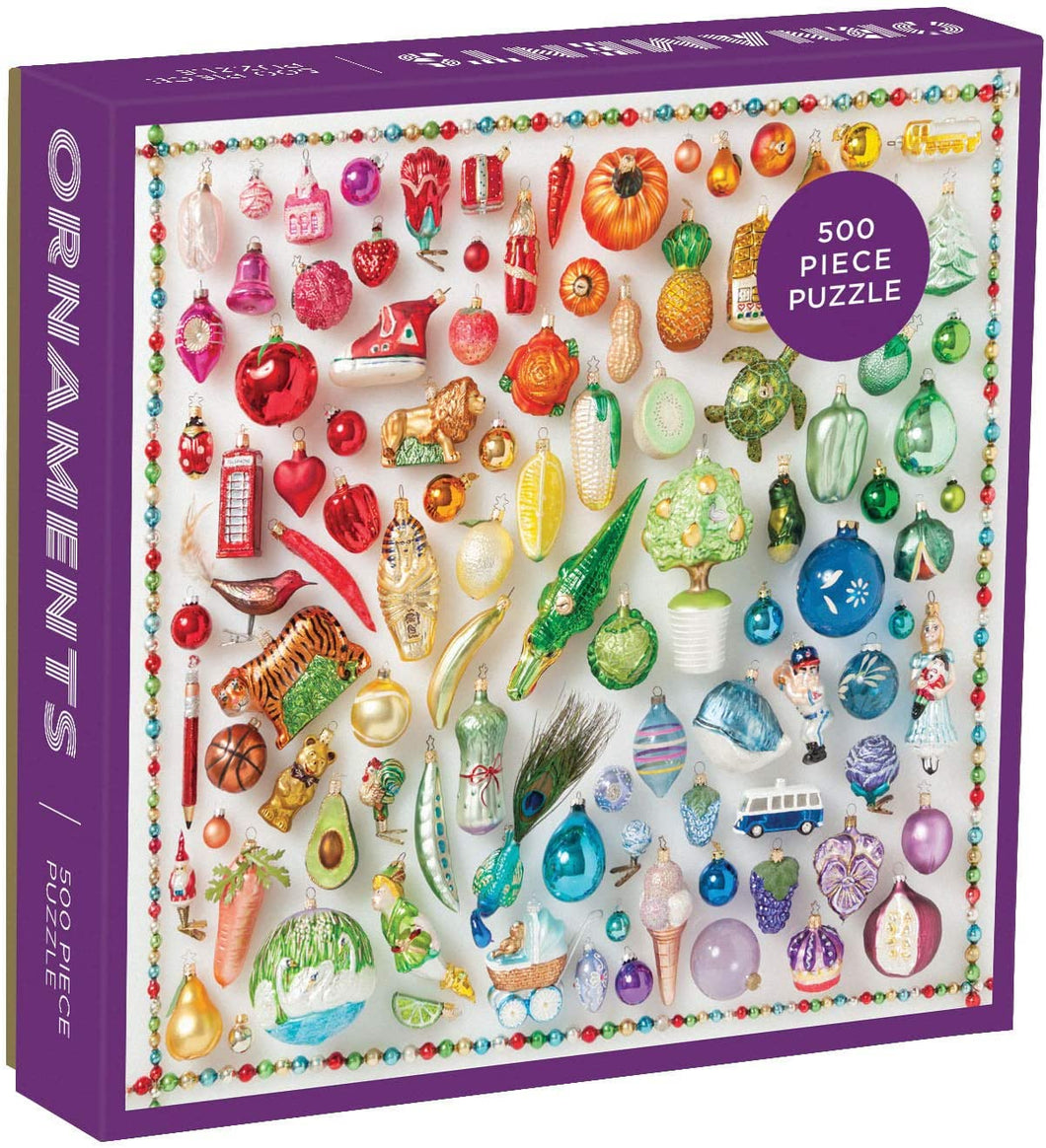 Rainbow Ornaments 500pc Puzzle