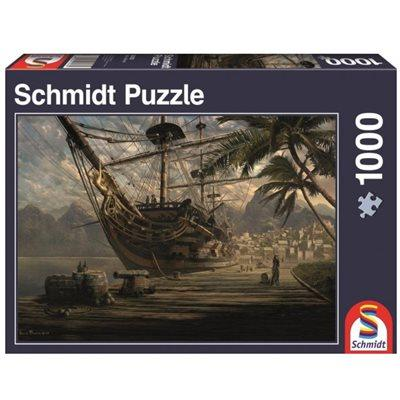 Ship at Anchor 1000pc Puzzle