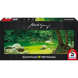 Mossman Gorge 1000pc Panoramic Puzzle