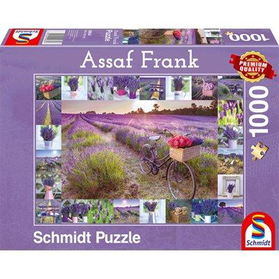 The Scent of Lavender by Assan Frank 1000pc Puzzle