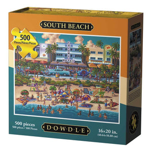 South Beach 500pc Puzzle