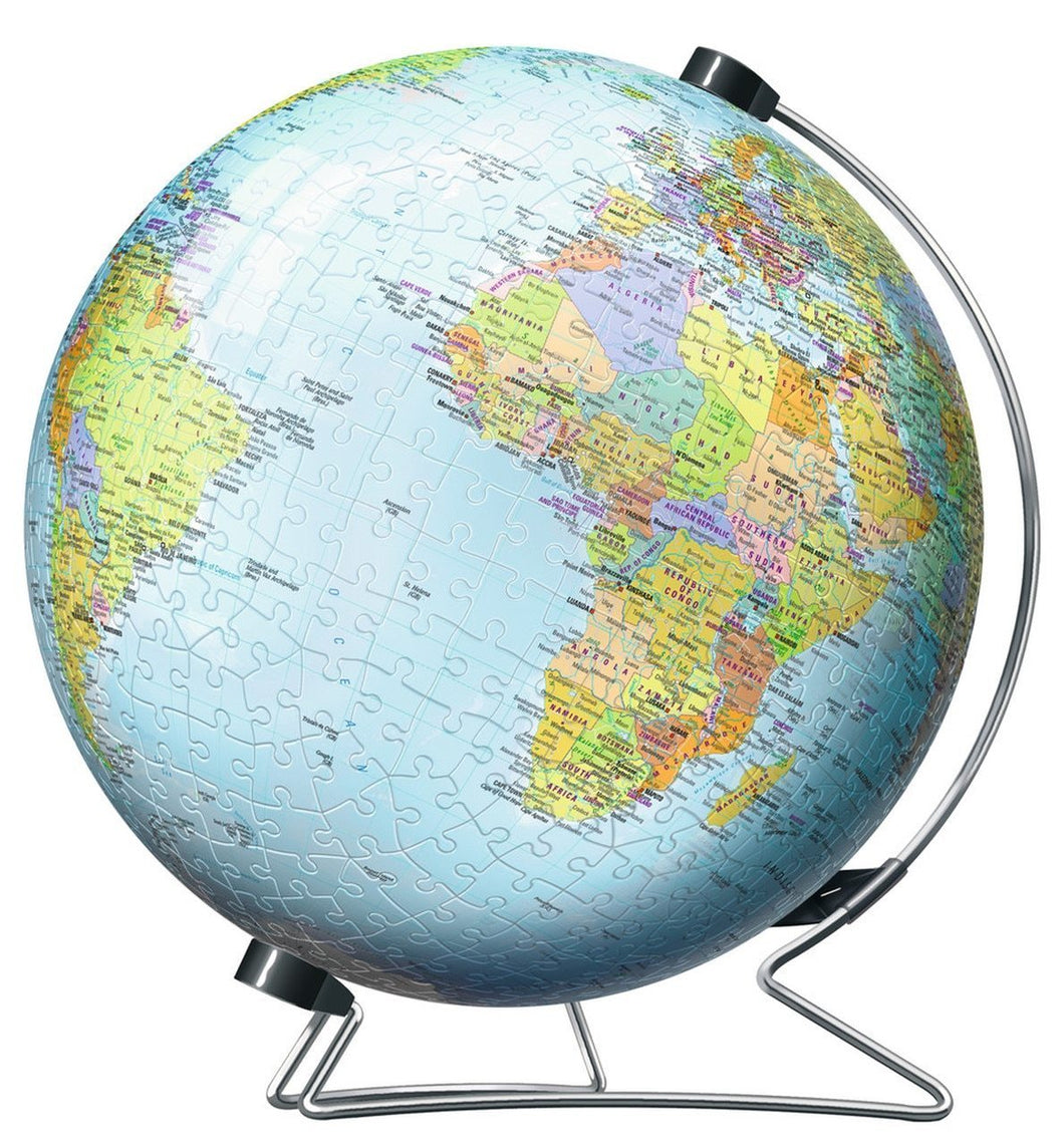 Globe of the Earth 540pc 3D Puzzle