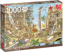 Load image into Gallery viewer, Pieces of History: The Egyptians 1000pc Puzzle